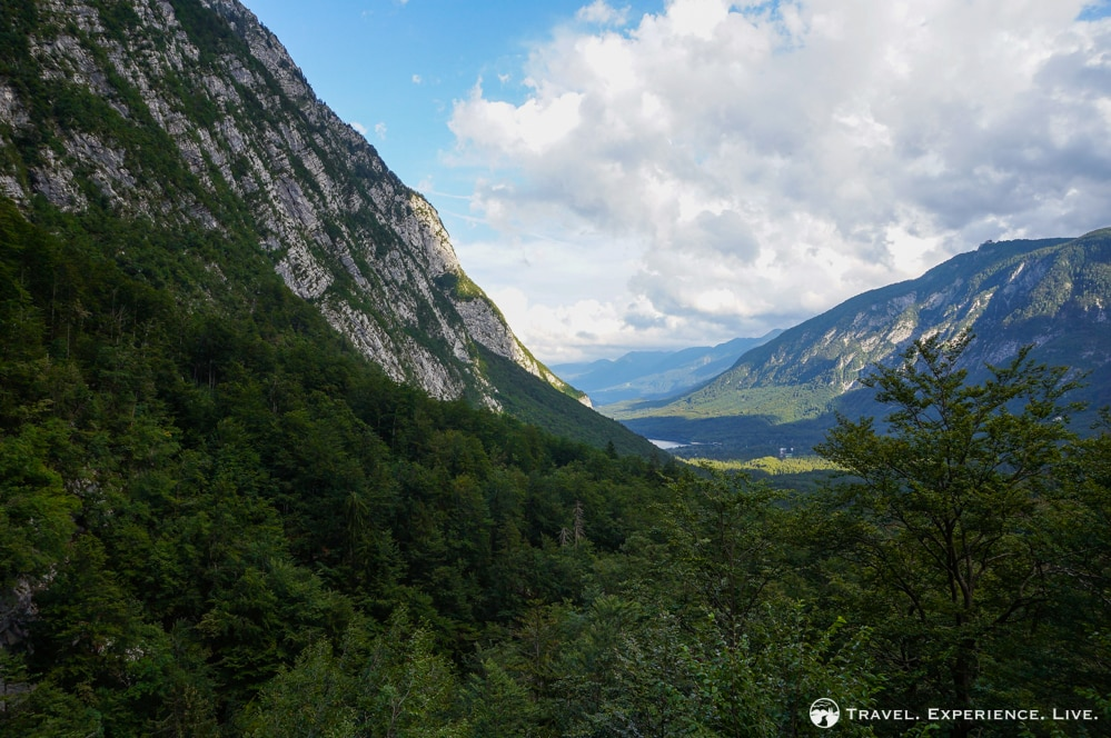 View of Bohinj Valley
