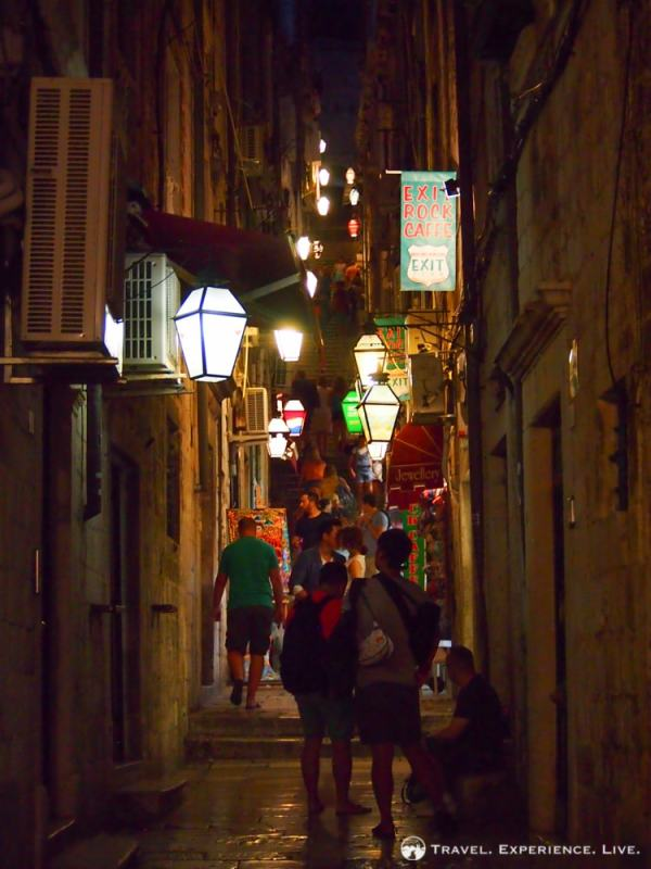 Three Days in Dubrovnik: Alleyway in Dubrovnik Old Town