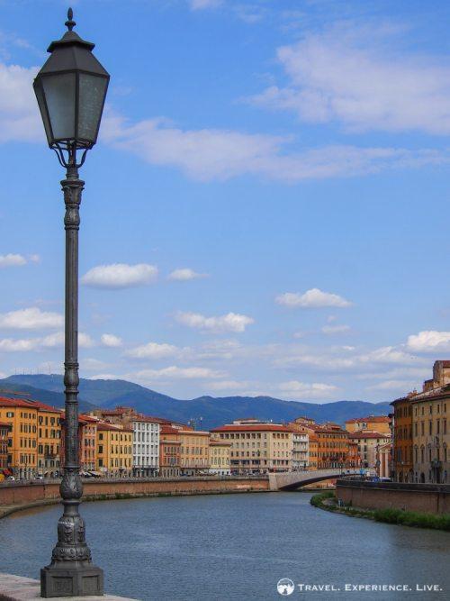 Day Trip to Pisa: Arno River, Pisa, Italy