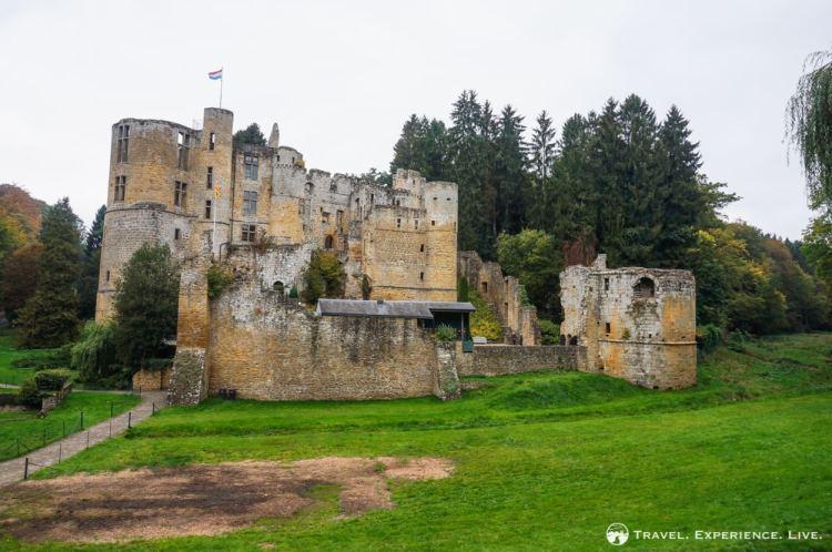 Beaufort Castle ruins