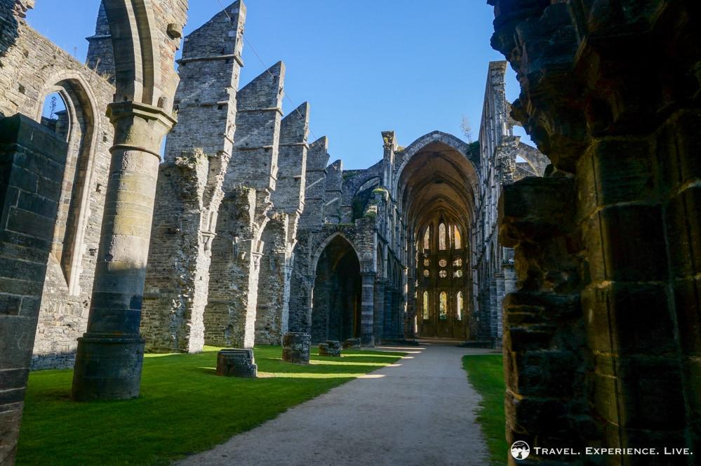 Church ruins at Villers Abbey, Villers-la-Ville