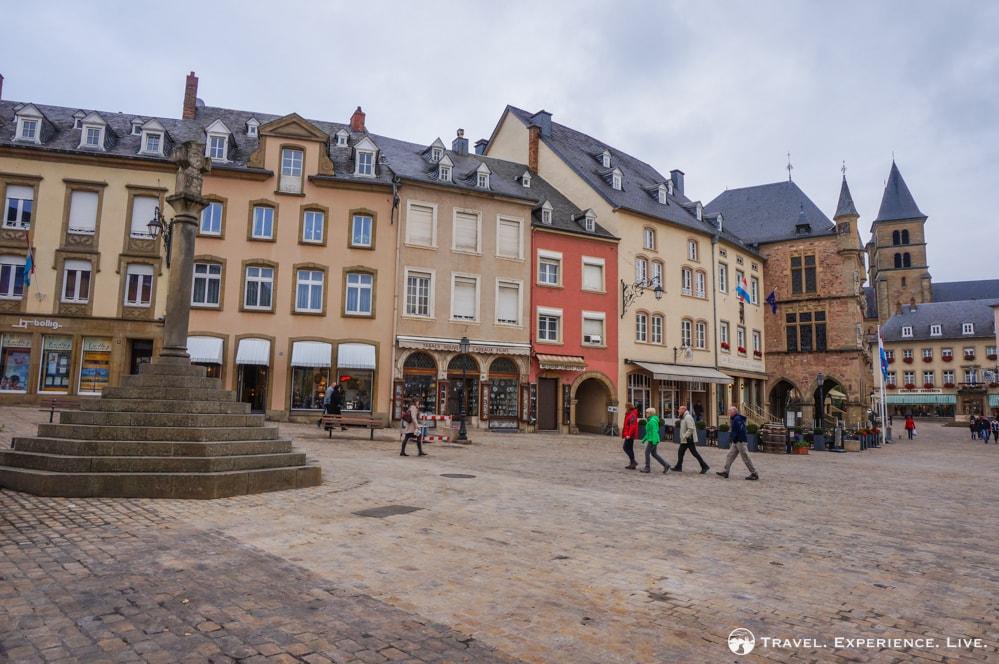 Echternach town square