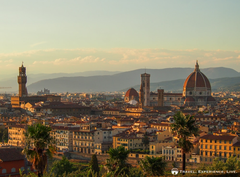 Florence in One Day: Piazzale Michelangelo view