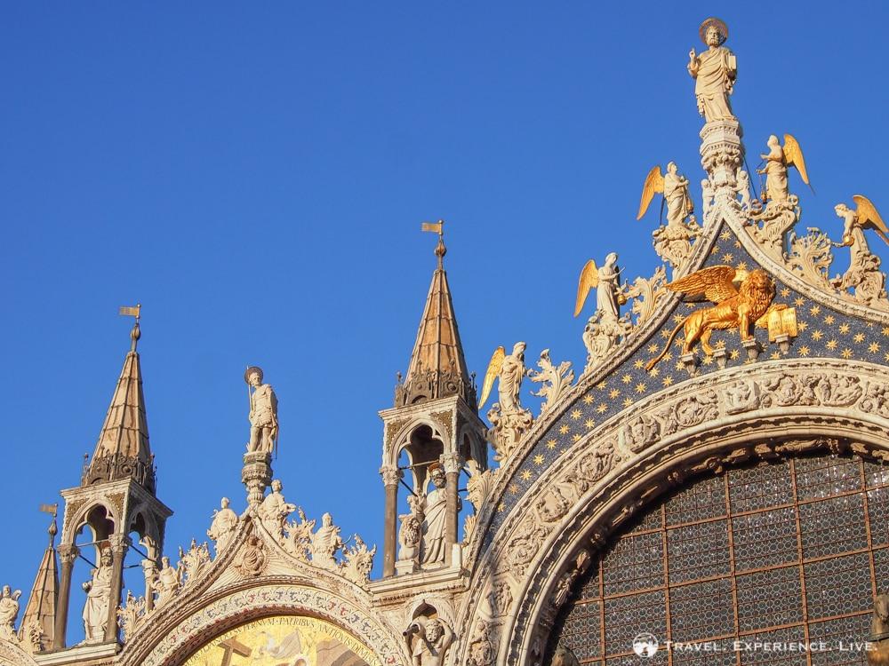 Venice photos: Top of St. Mark's Basilica, Venice