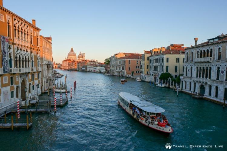 Venice photos: Vaporetto on the Grand Canal in Venice