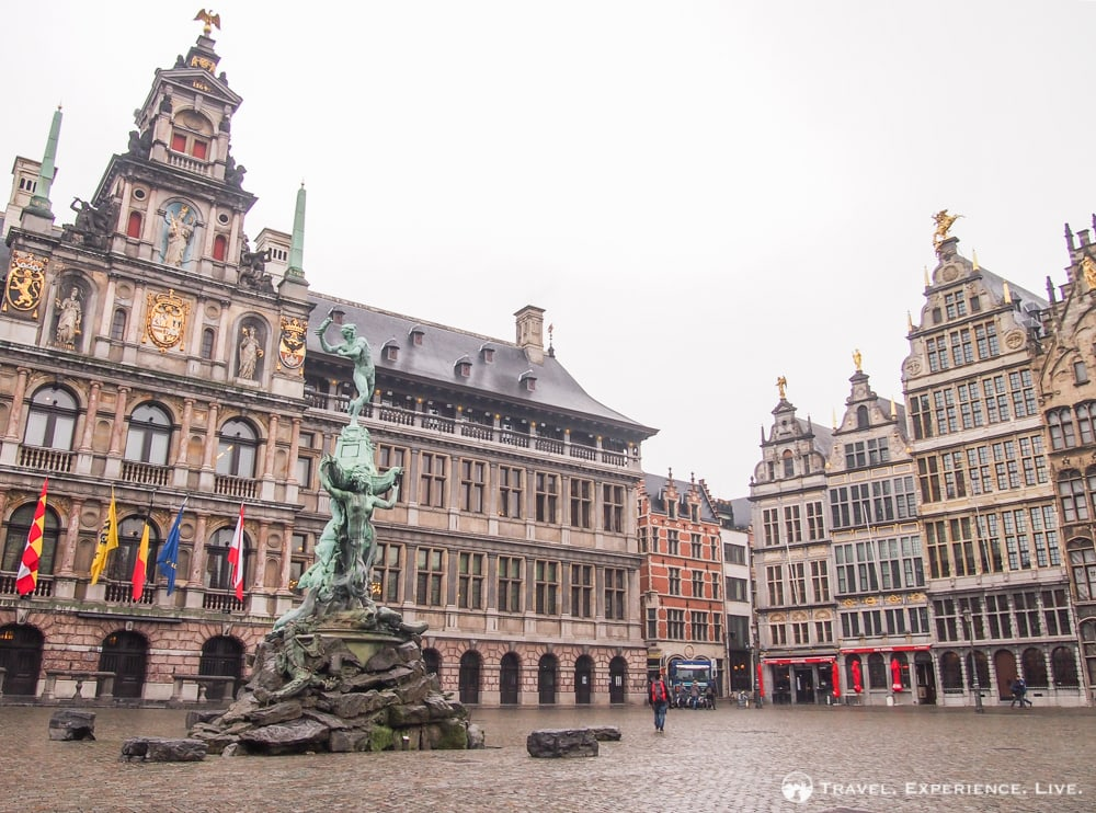 City Hall and guild houses, Antwerp photos