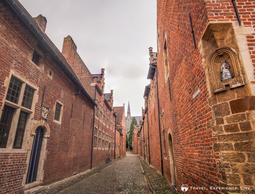 Grand Béguinage in Leuven - Belfries and Béguinages in Belgium