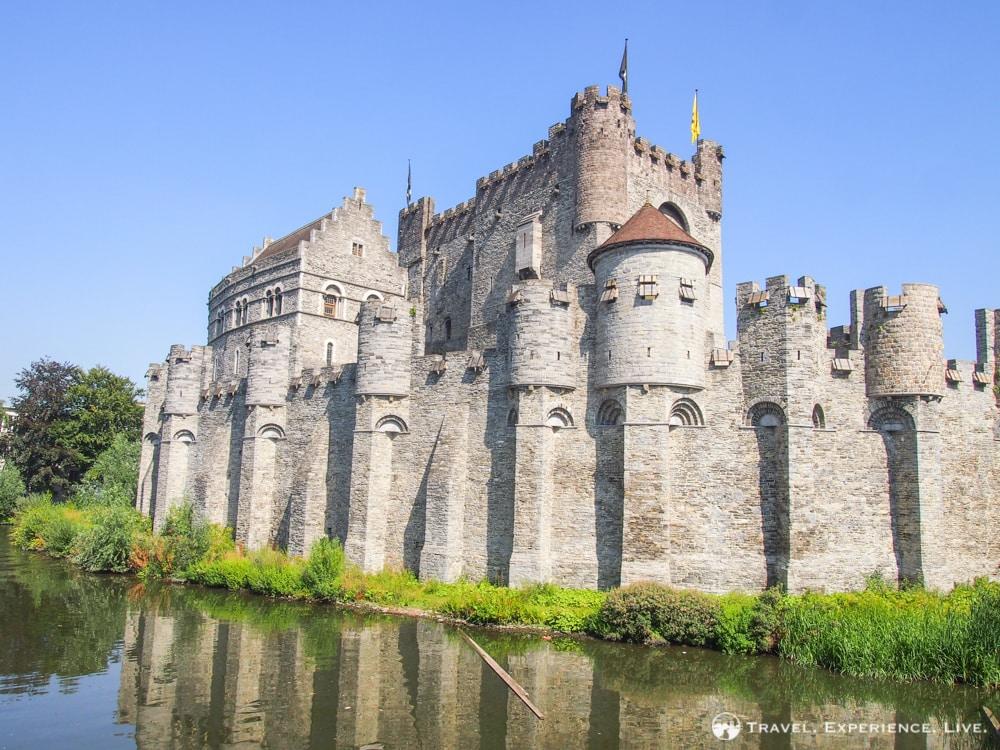Visiting Ghent, Belgium: Gravensteen Castle