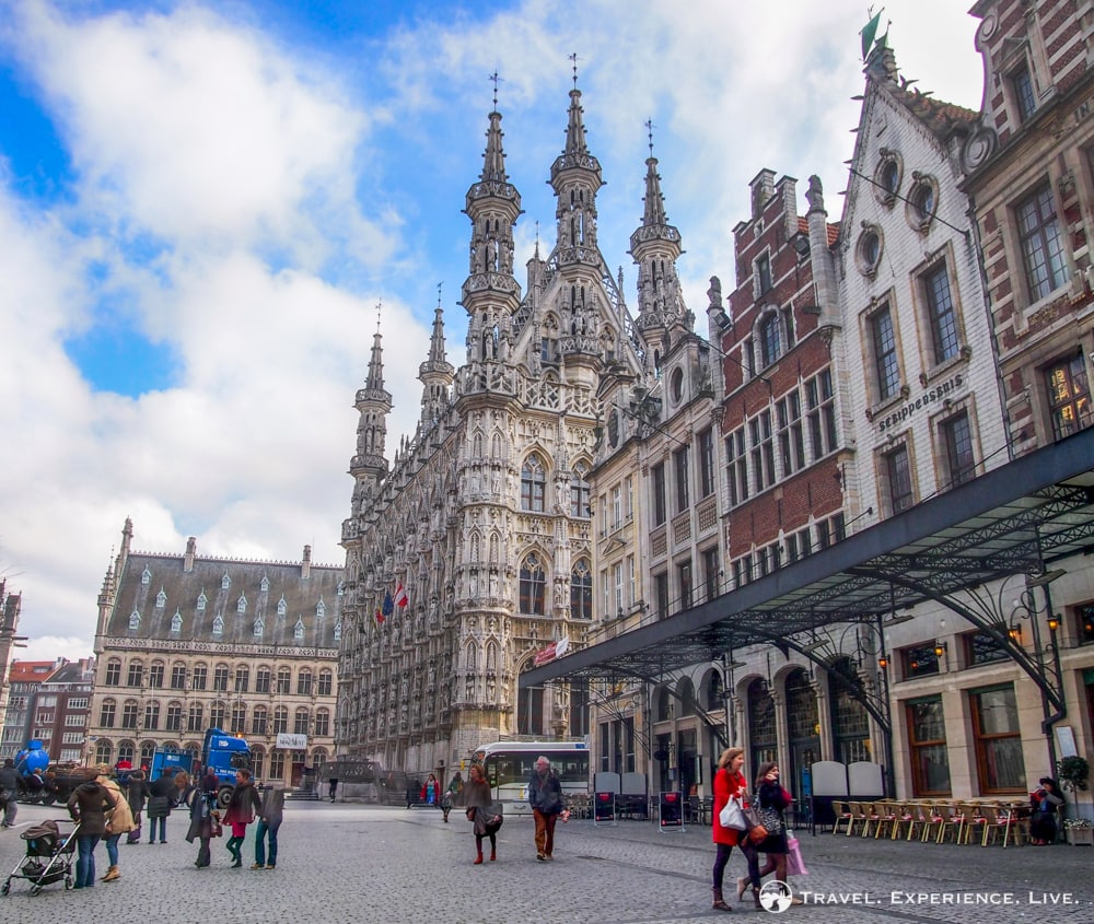 What to see in Leuven, Belgium: Town Hall at the Grote Markt