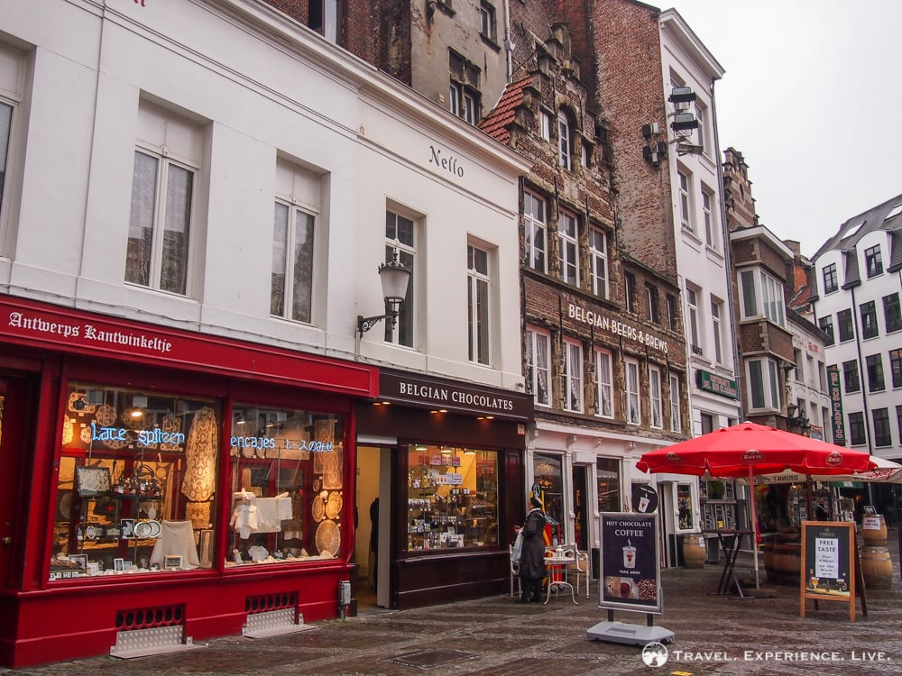 Shops in Antwerp, Belgium