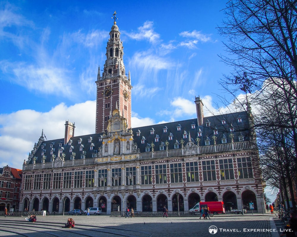 What to see in Leuven, Belgium: University Library in Leuven