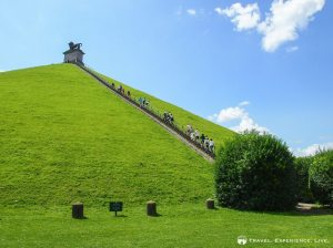 Lion's Mound in Waterloo