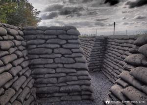 Trench of Death, Flanders Fields