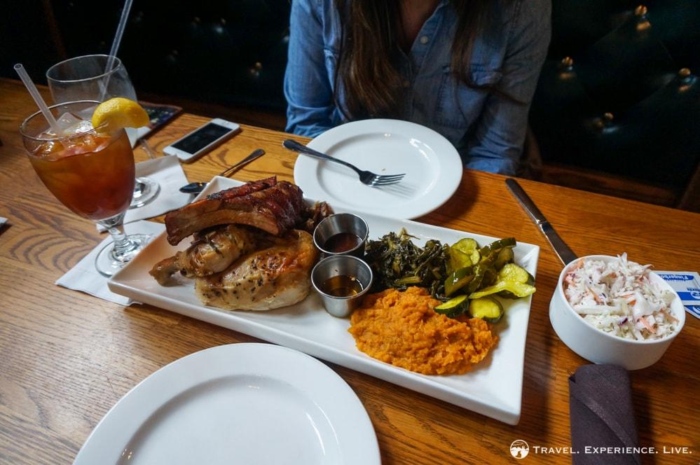 Southern comfort food at Stable Café, Biltmore Estate