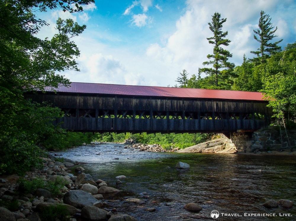 Albany Covered Bridge, White Mountains, New Hampshire