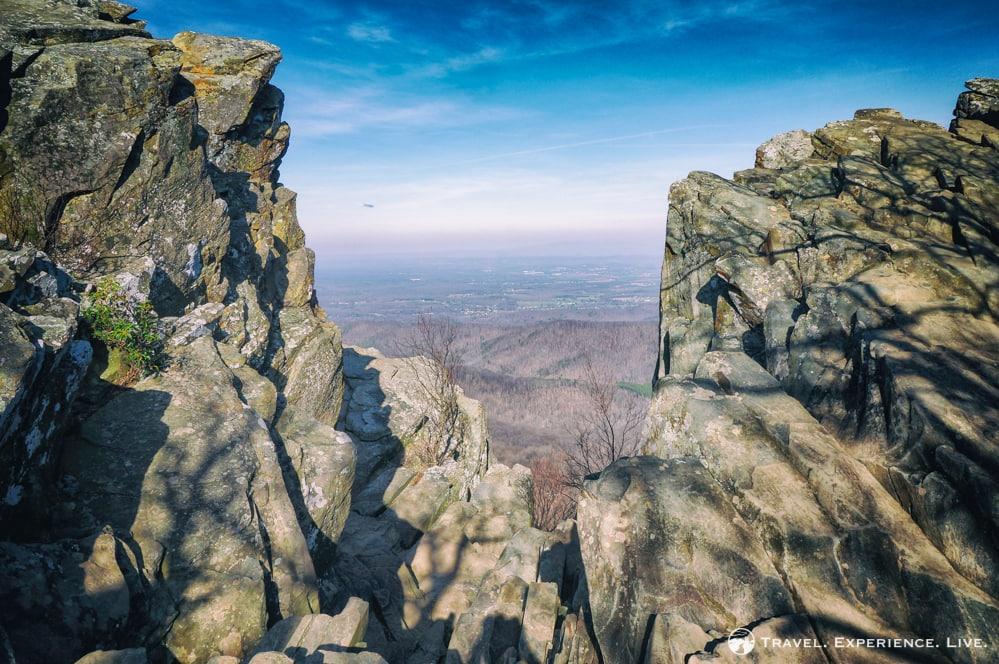 Hiking Humpback Rocks, Blue Ridge Parkway, Virginia