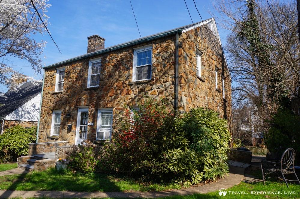 Stone house in Charlottesville, Virginia