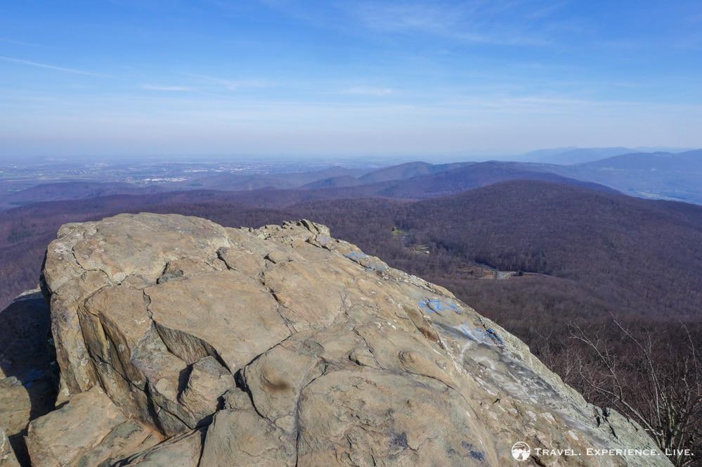 Top of Humpback Rocks