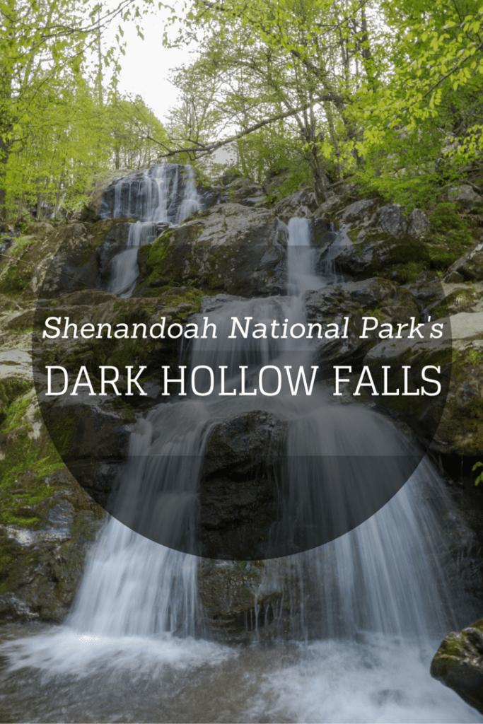 Dark Hollow Falls Trail in Shenandoah National Park, Virginia