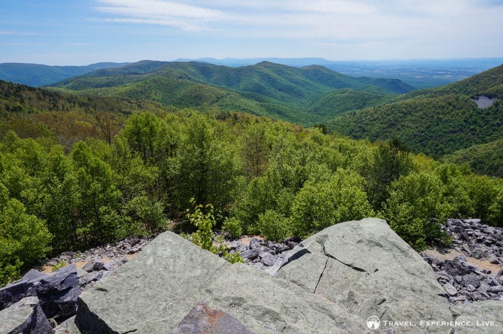 View from Blackrock Summit, Shenandoah National Park