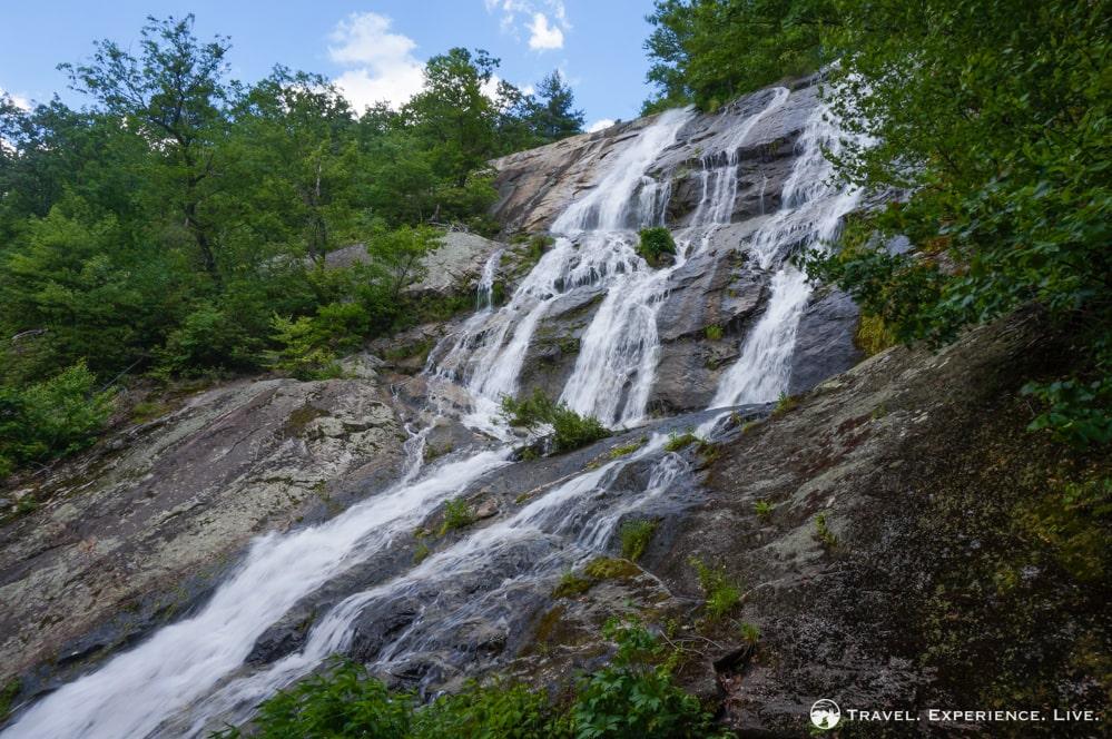 Crabtree Falls waterfall