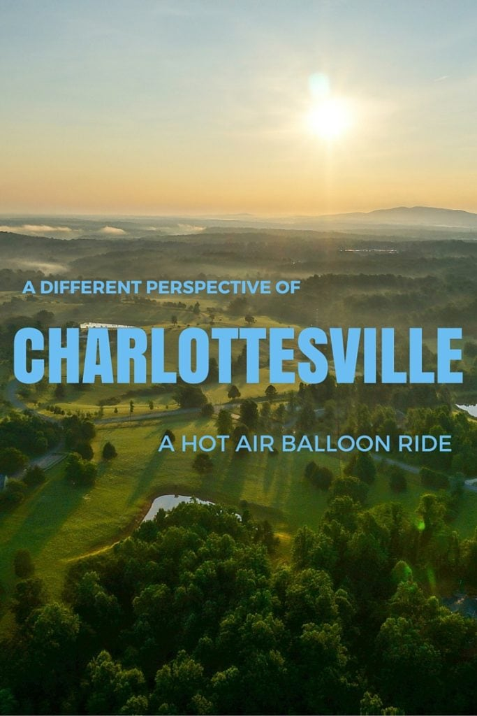 Hot Air Balloon Ride in Charlottesville, Virginia