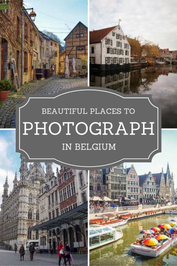 Urban Places in Belgium to Photograph
