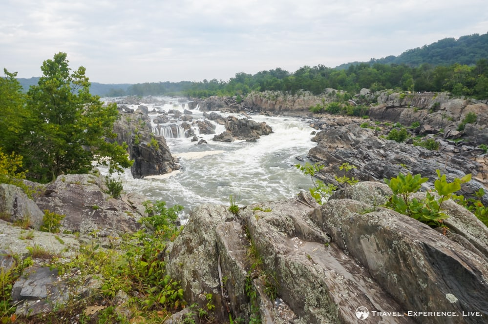 Waterfalls at Great Falls Park, Virginia
