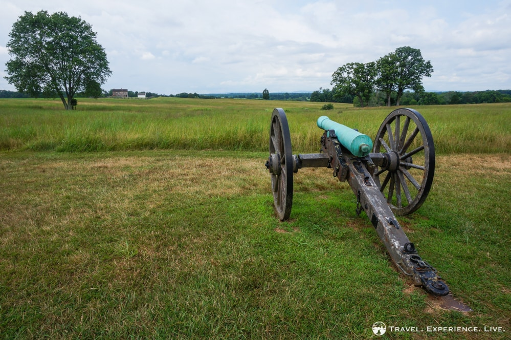 Confederate cannon, Manassas National Battlefield
