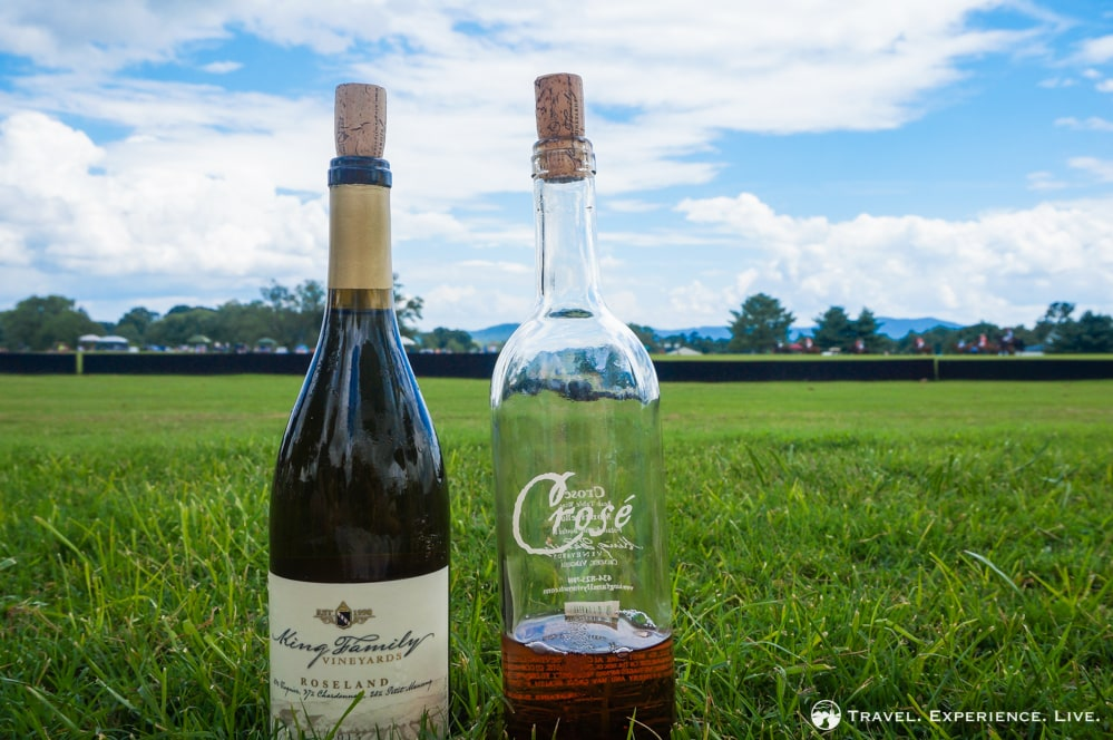 Wine and polo at King Family Vineyard