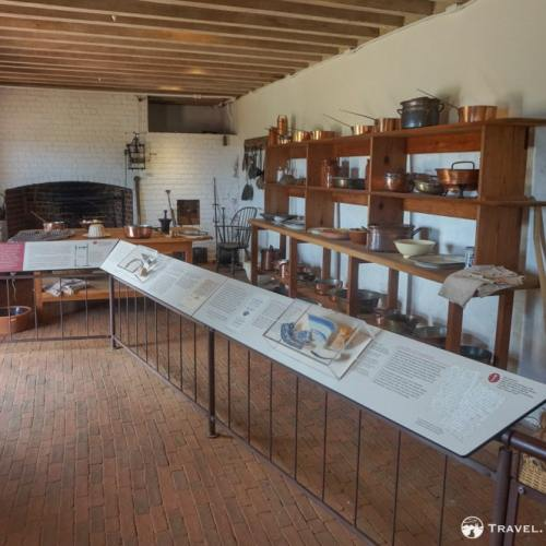 Kitchen at Monticello, Charlottesville
