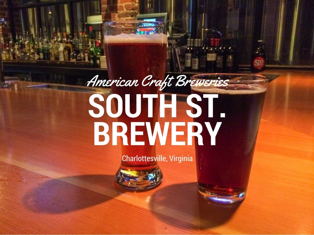 South Street Brewery in Charlottesville, Virginia