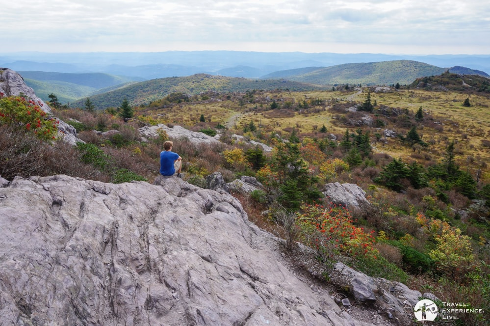 Awe-inspiring landscape in Virginia's Grayson Highlands