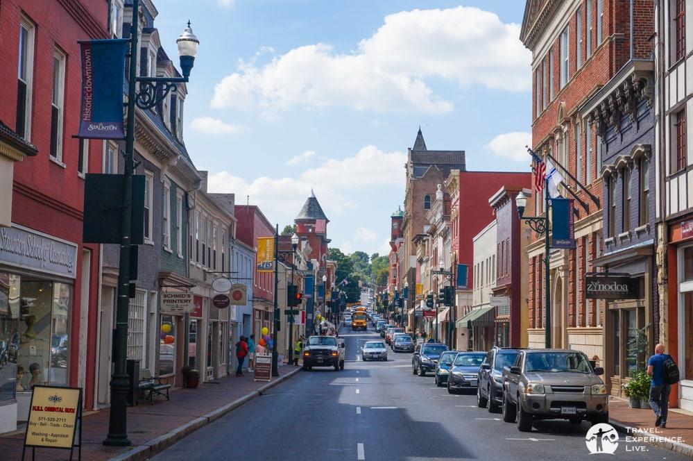 Beverley Street, Staunton, Virginia