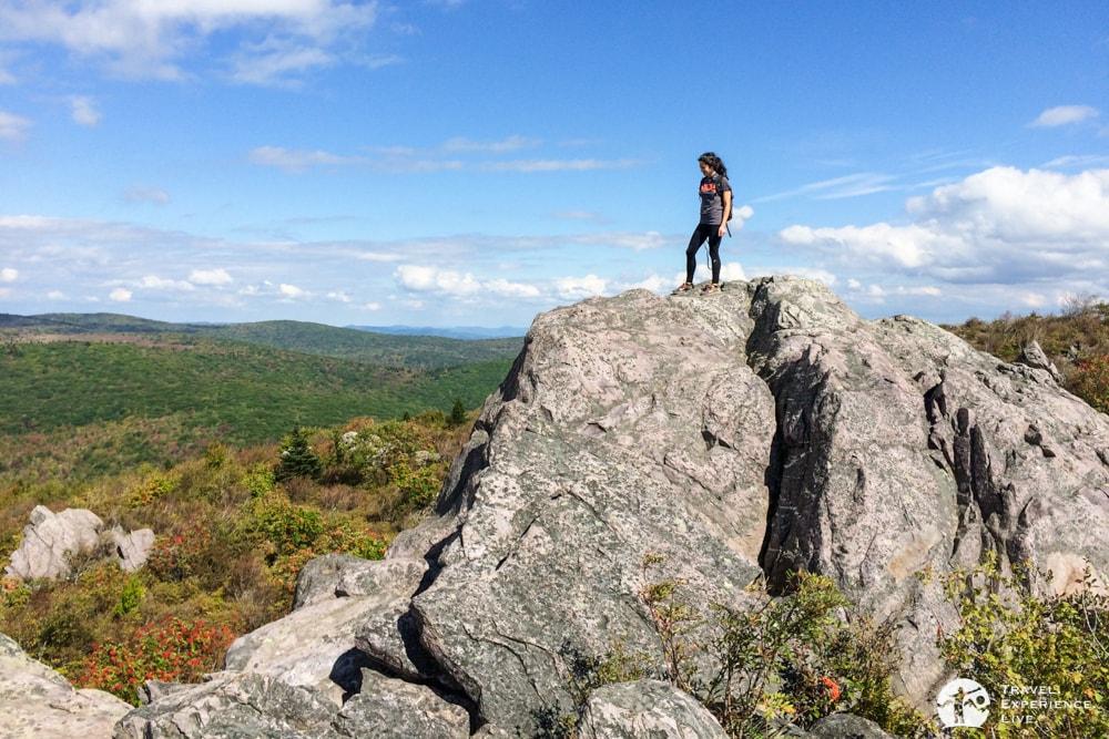 Bouldering in Grayson Highlands