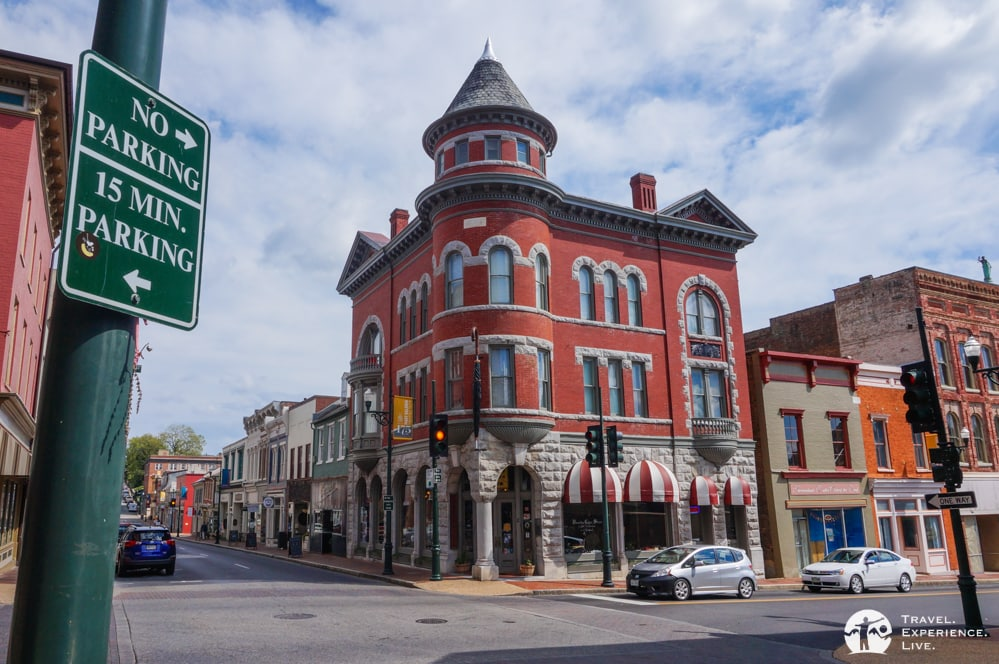 How to Spend a Day in Staunton, Virgina: Marquis Building on Beverley Street, Staunton