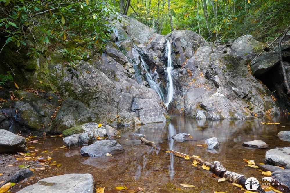 Waterfall along Cabin Creek, Grayson Highlands