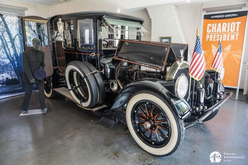 Woodrow Wilson's 1919 Pierce-Arrow Limousine