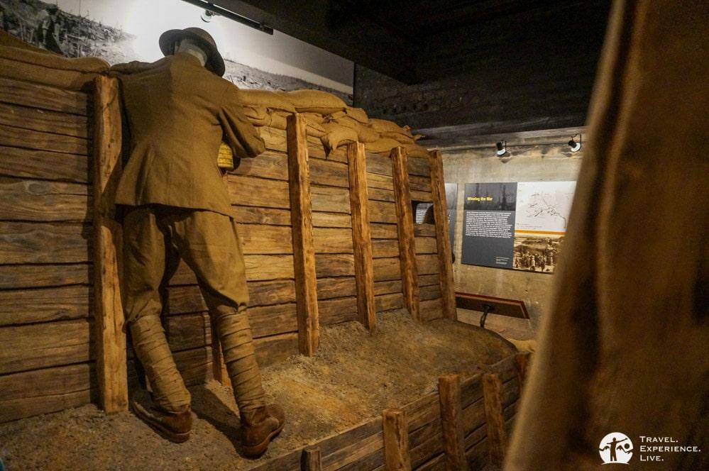 World War I Trench Exhibit, Woodrow Wilson Birthplace