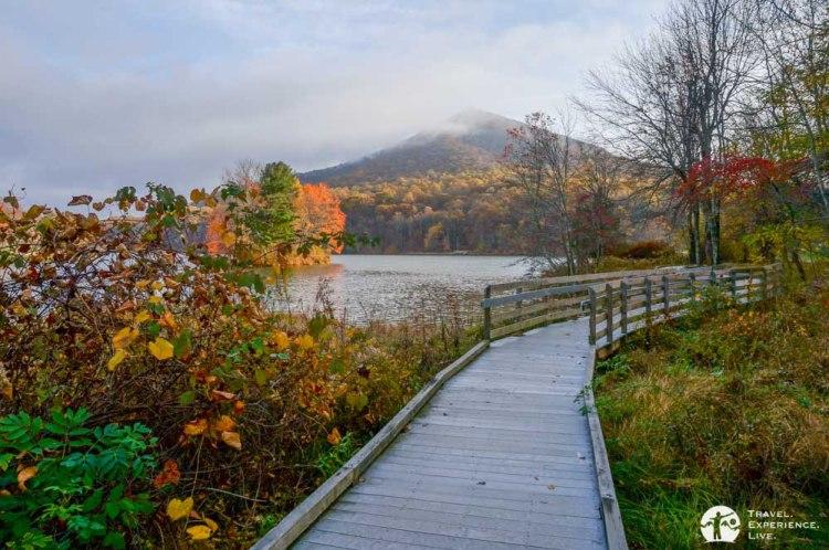 Abbott Lake Loop Trail, Peaks of Otter
