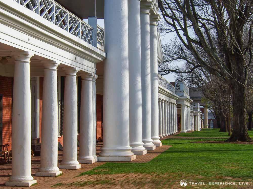 University of Virginia columns