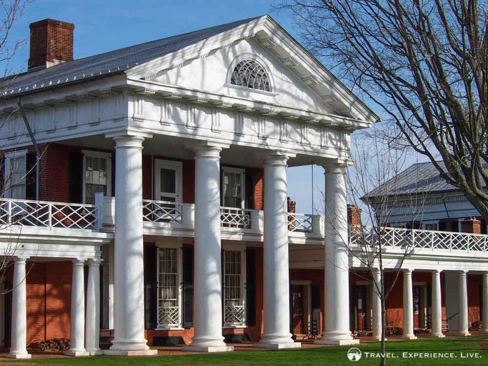 University of Virginia pavilion