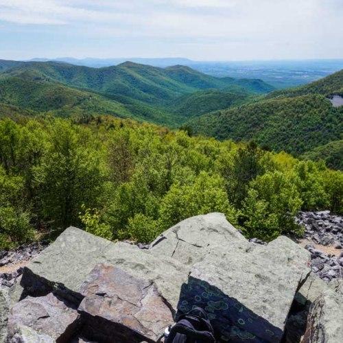 View from Blackrock Summit