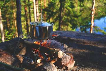 Camping cooking hacks