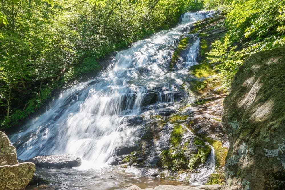 Crabtree Falls cascades
