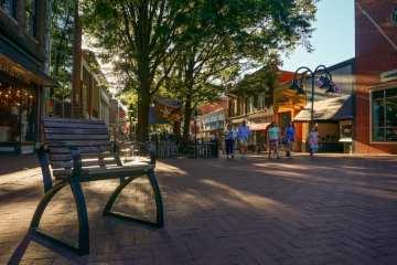 Historic Downtown Mall, Charlottesville