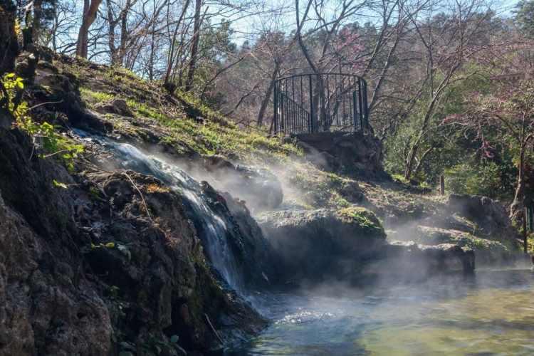 Hot Water Cascade, Hot Springs National Park, Arkansas