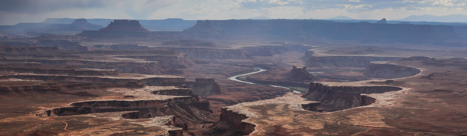 Green River Overlook, Island in the Sky, Canyonlands National Park, Utah