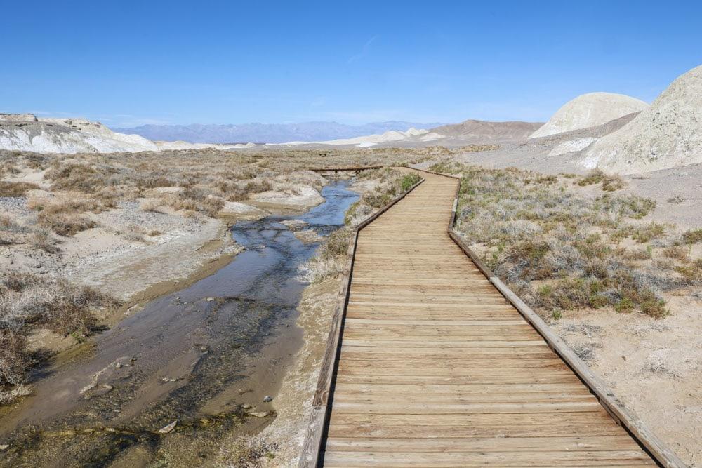Salt Creek boardwalk, Death Valley National Park