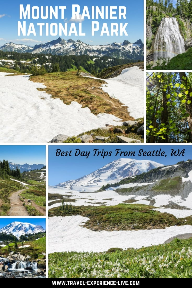 Mount Rainier National Park - Best Day Trips From Seattle, WA